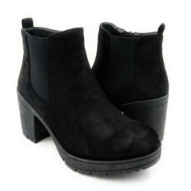 Forever Status-49 Black Color Boots Both Shoes together, Women Shoes