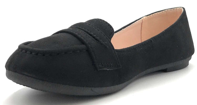 Forever Supple-15 Black Color Flat-Sandals Shoes for Women
