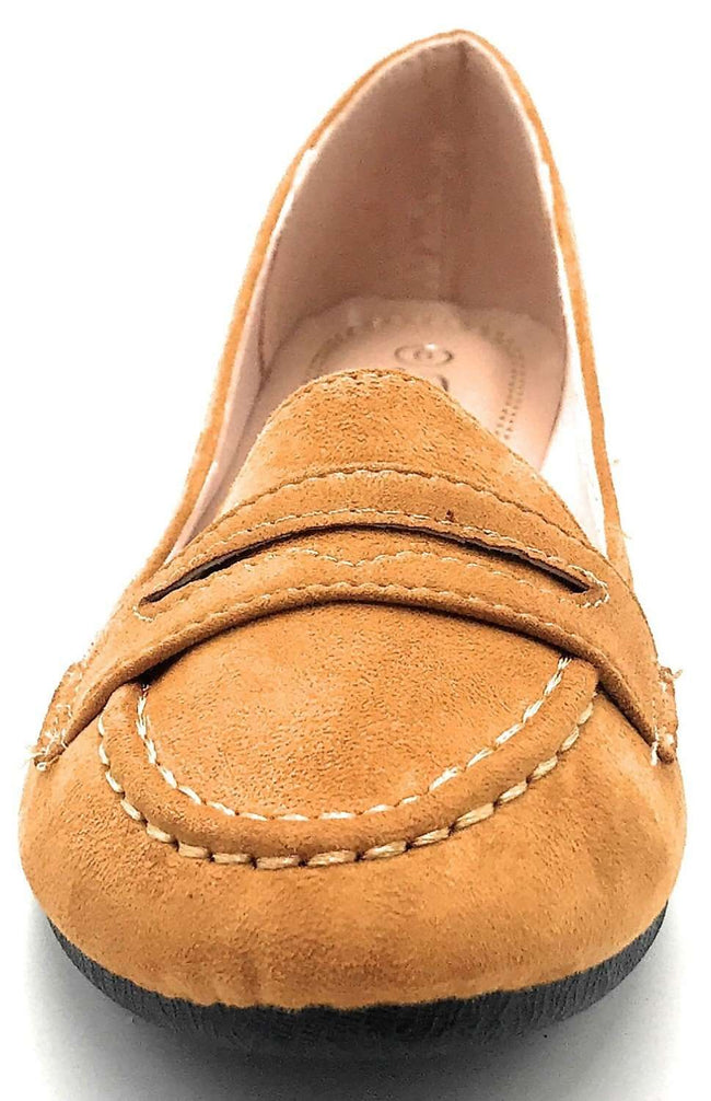 Forever Supple-15 Tan Color Flat-Sandals Shoes for Women
