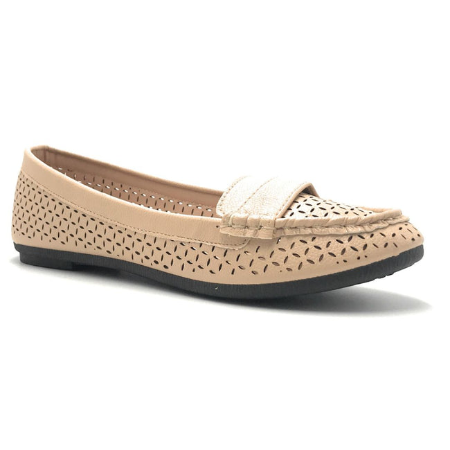 Forever Supple-36 Beige Color Ballerina Shoes for Women