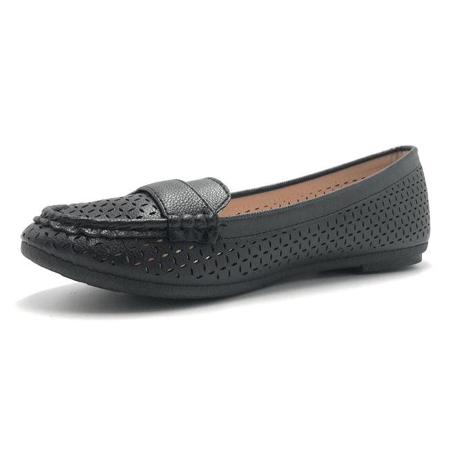 Forever Supple-36 Black Color Ballerina Shoes for Women