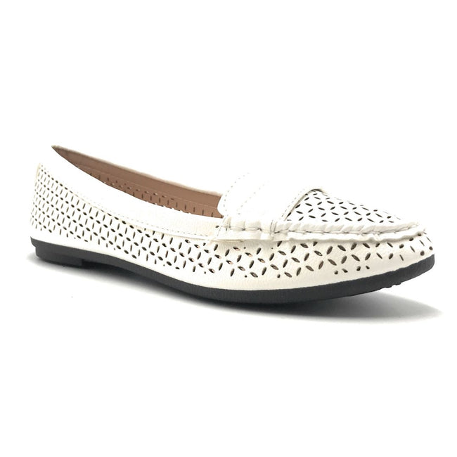 Forever Supple-36 White Color Ballerina Shoes for Women