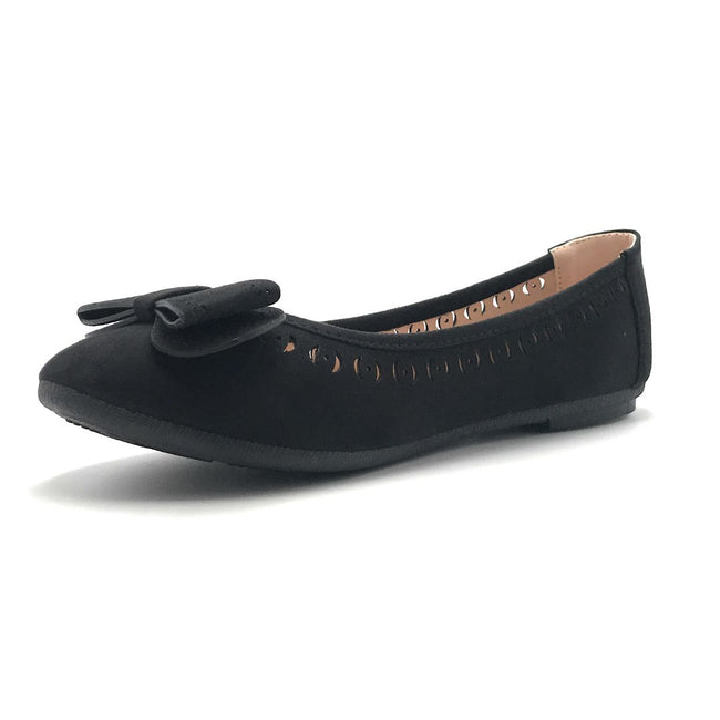Forever Upgrade-61 Black Color Ballerina Shoes for Women