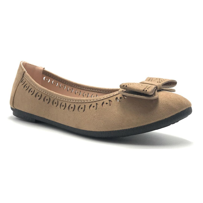 Forever Upgrade-61 Taupe Color Ballerina Shoes for Women