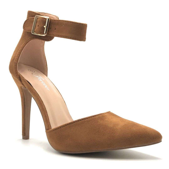 Forever Young-05 Tan Color Heels Shoes for Women