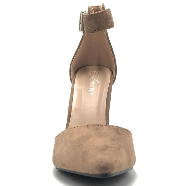 Forever Young-05 Taupe Color Heels Shoes for Women
