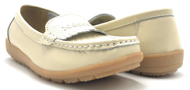 Kecom QJ-8003 Beige Color Ballerina Shoes for Women