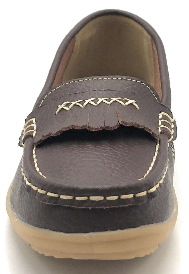 Kecom QJ-8003 Brown Color Ballerina Shoes for Women