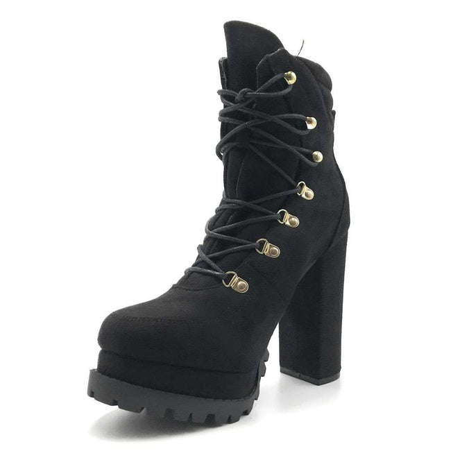 Legend Vivian-06 Black Color Boots Shoes for Women