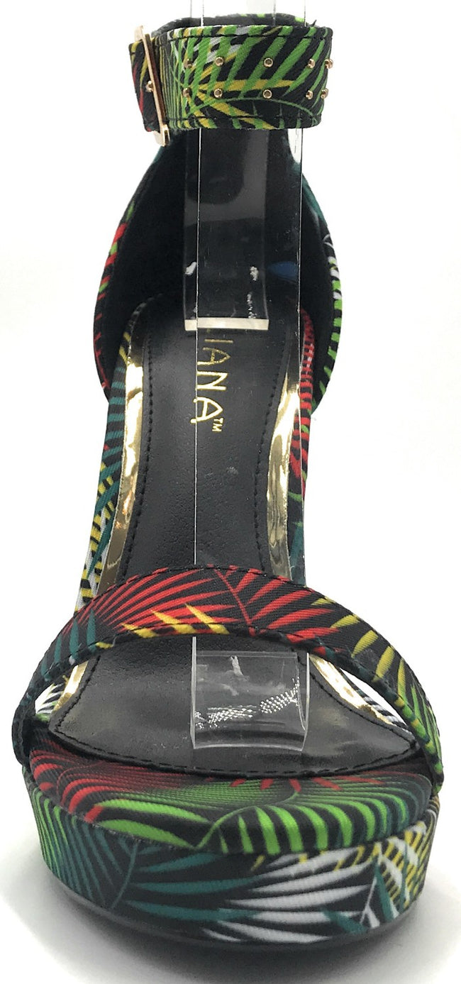 Liliana Cardi-8 Multi Color Heel Shoes for Women