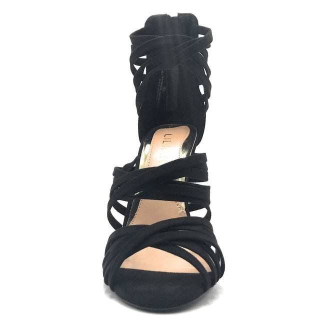 Liliana Donna-8 Black Color Heels Shoes for Women