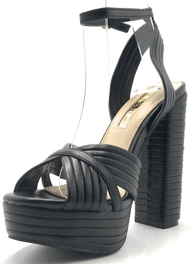 Liliana Gilly-9 Black Color Heels Shoes for Women