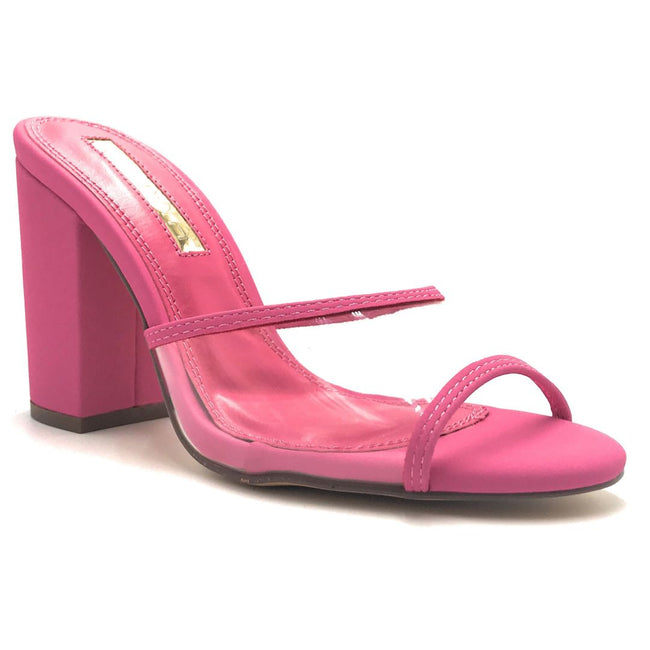 Liliana Kana-4 Pink Color Heels Shoes for Women