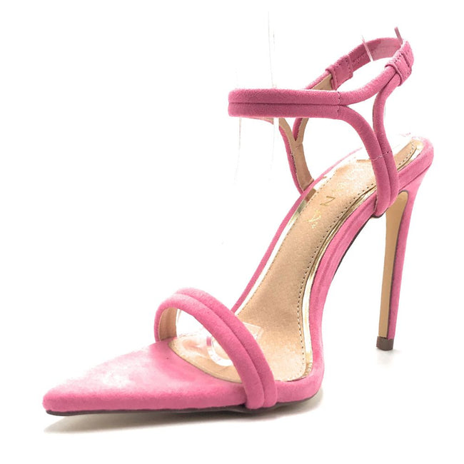 Liliana Laurent-6 Pink Color Heels Shoes for Women