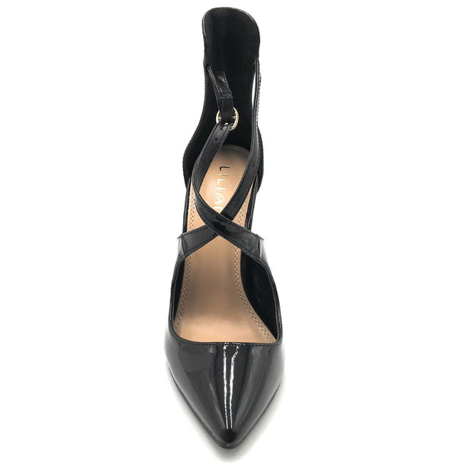 Liliana New-1 Black Color Pumps Shoes for Women