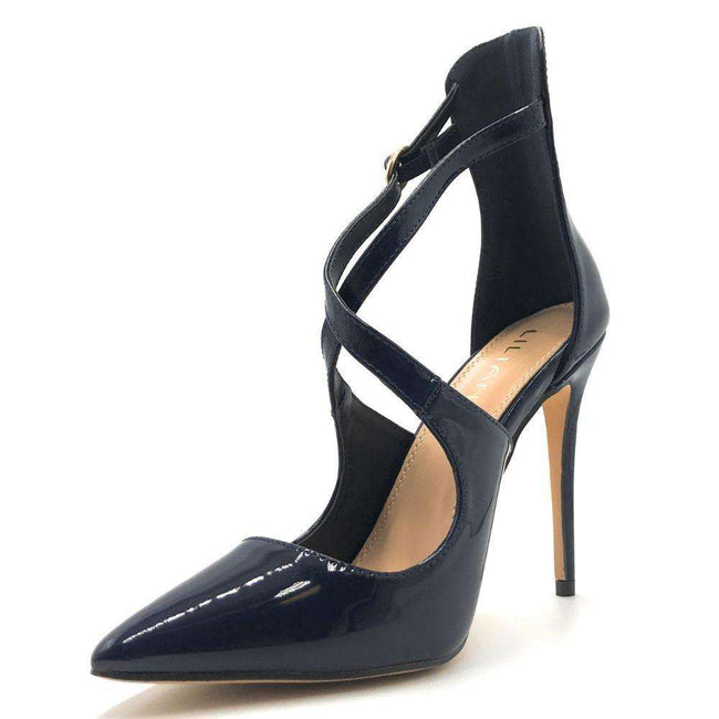 Liliana New-1 Blue Color Pumps Shoes for Women
