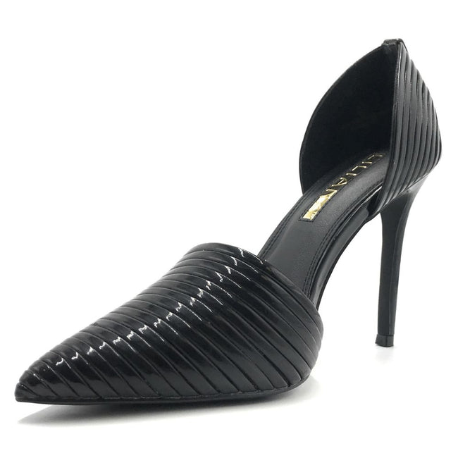 Liliana Selina-43 Black Color Pumps Shoes for Women