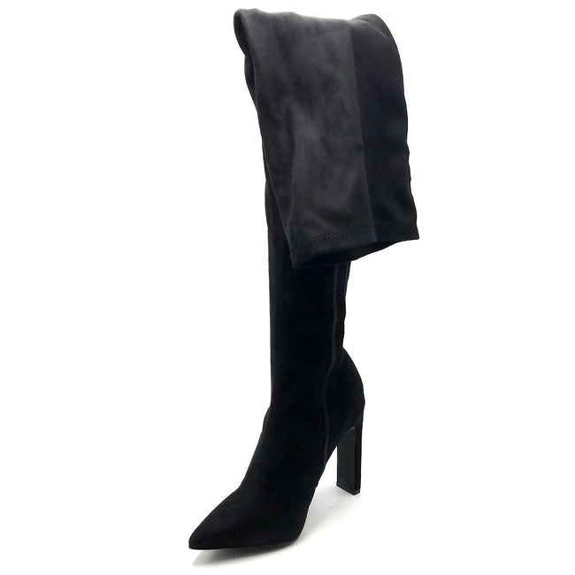 Liliana Splice-1 Black Color Boots Left Side view, Women Shoes
