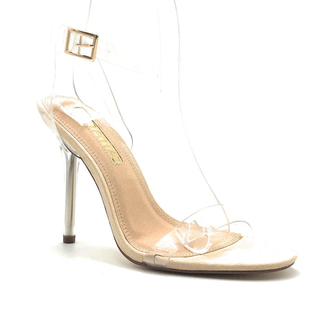 Liliana Veneza-2 Nude Color Heel Shoes for Women
