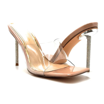 Liliana Vita-1 Nude Color Heels Both Shoes together, Women Shoes