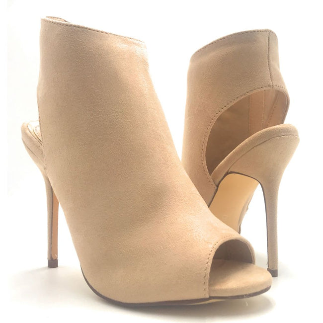 Liliana Wanda-4 Nude Color Heels Shoes for Women