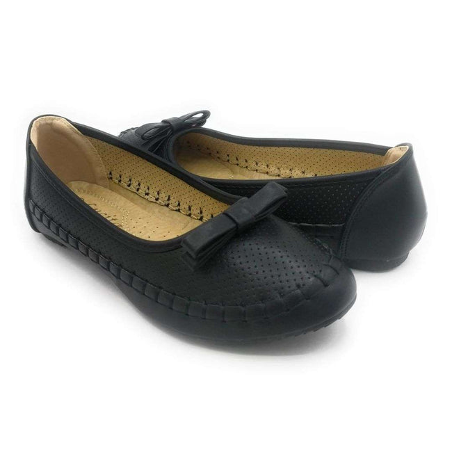 Lucita F07-010 Black Color Ballerina Shoes for Women