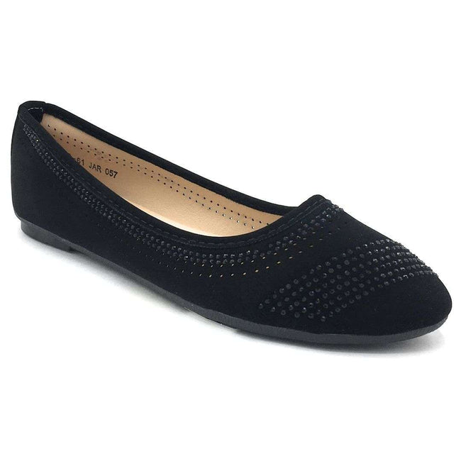 Lucita FU2-61 Black Color Ballerina Shoes for Women
