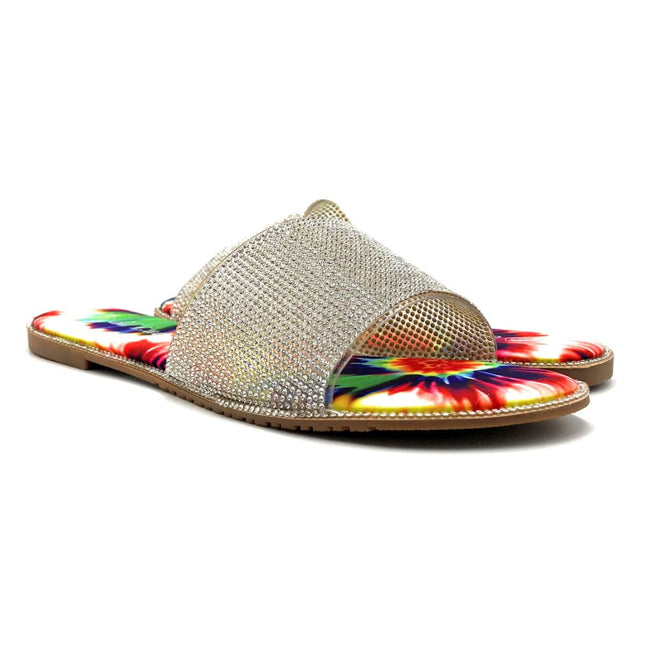 Lucita Sarah-001 Multi Color Flat-Sandals Both Shoes together, Women Shoes
