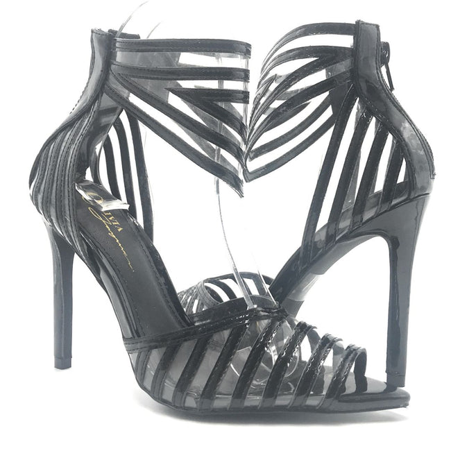 Olivia Jaymes Ashton Black Color Heels Shoes for Women