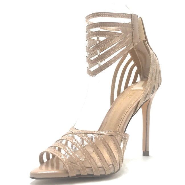 Olivia Jaymes Ashton Nude Color Heels Shoes for Women