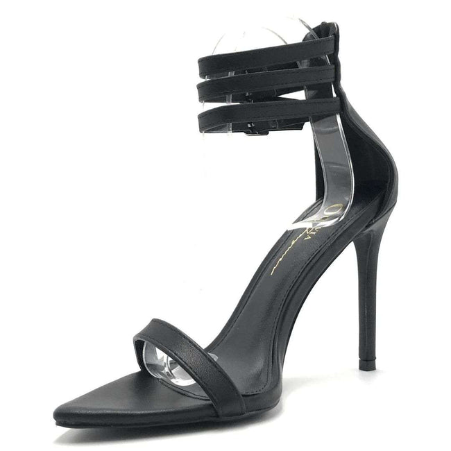 Olivia Jaymes Blair Black Color Heels Shoes for Women