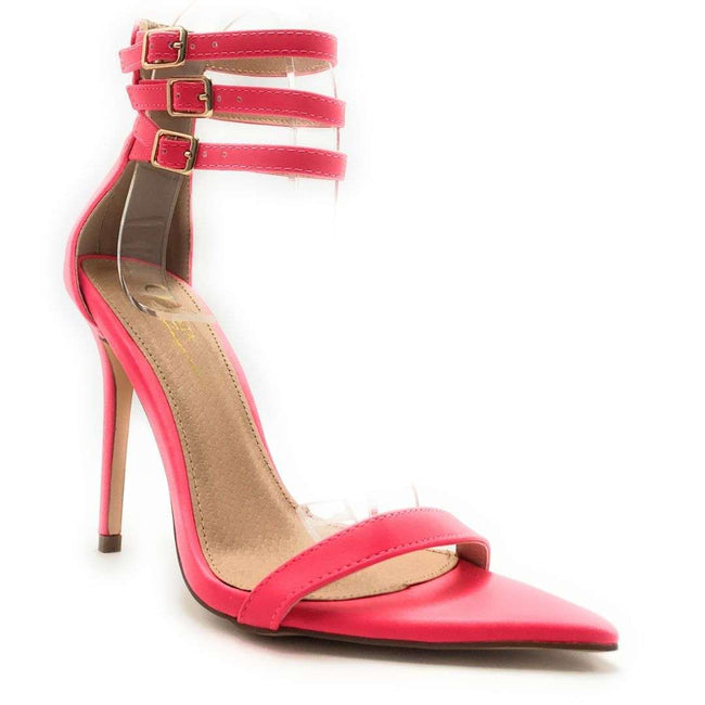 Olivia Jaymes Blair H. Pink Color Heels Shoes for Women