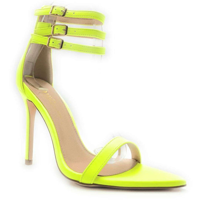 Olivia Jaymes Blair Yellow Color Heels Shoes for Women