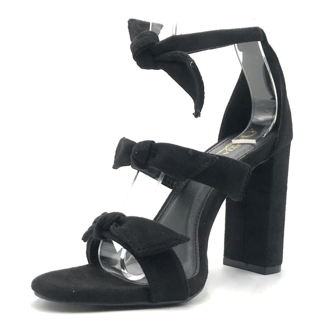Olivia Jaymes Bliss Black Color Heels Shoes for Women