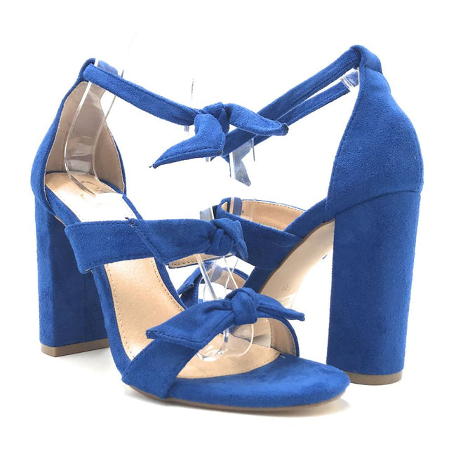 Olivia Jaymes Bliss Blue Color Heels Shoes for Women