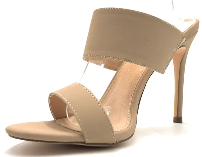 Olivia Jaymes Kings Nude Color Heels Shoes for Women