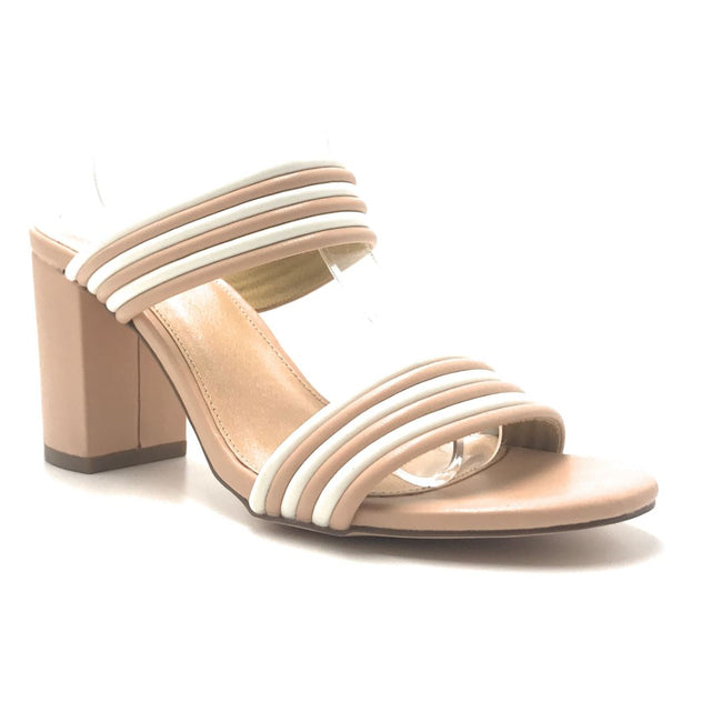 Olivia Jaymes Letty Nude_White Color Heels Shoes for Women