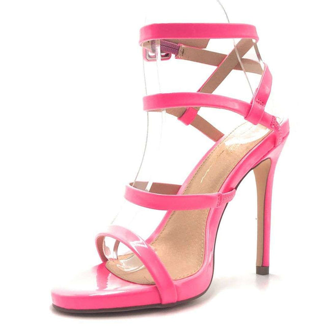 Olivia Jaymes London Hot Pink Color Heels Shoes for Women