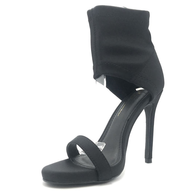 Olivia Jaymes Marley Black Color Heels Shoes for Women