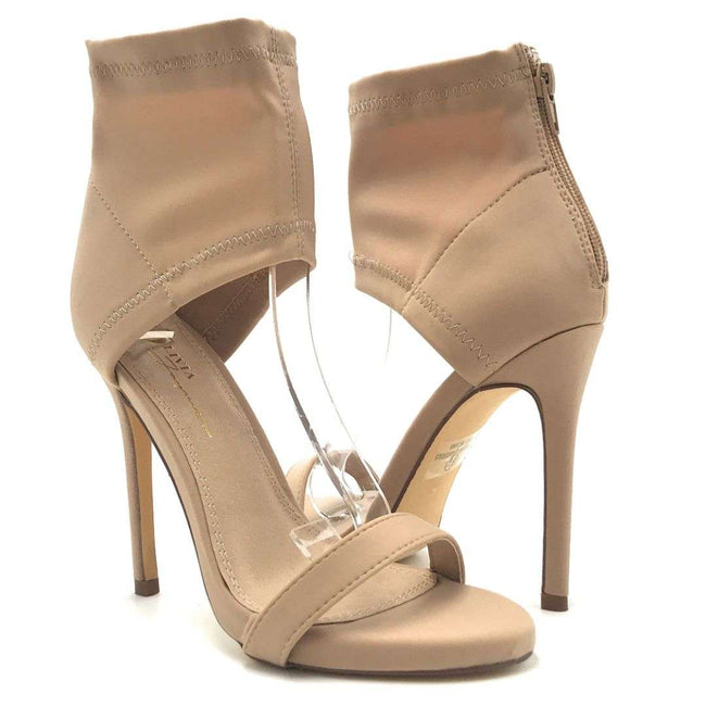 Olivia Jaymes Marley Nude Color Heels Shoes for Women