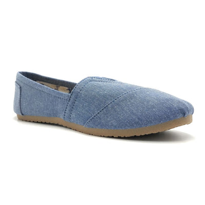 Olivia Jaymes Nina-03 Chambray Color Moccasin Shoes for Women