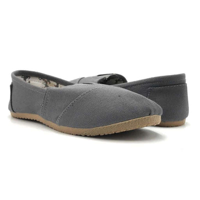 Olivia Jaymes Nina-03 Charcoal Color Moccasin Shoes for Women