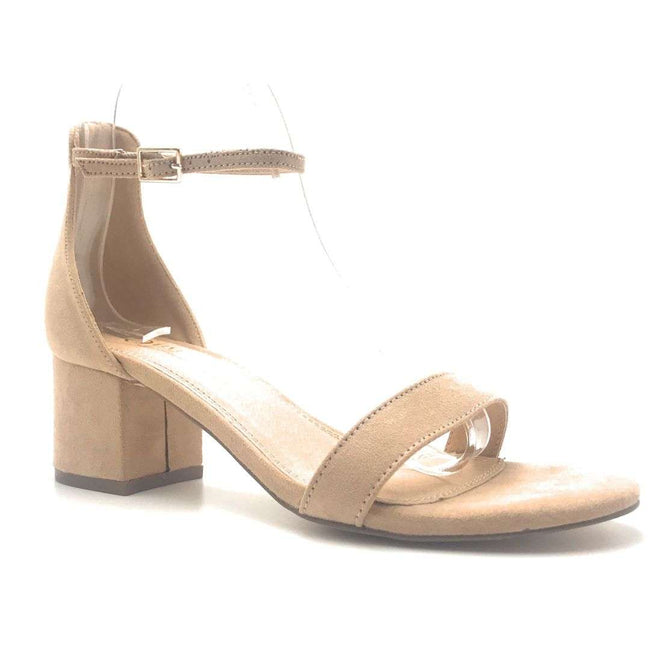 Olivia Jaymes Ronnie Camel Color Heels Shoes for Women
