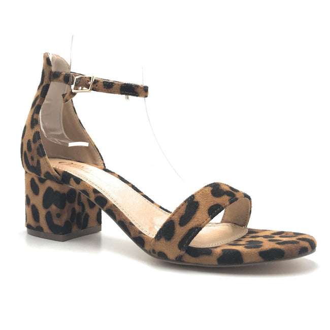 Olivia Jaymes Ronnie Leopard Color Heels Shoes for Women