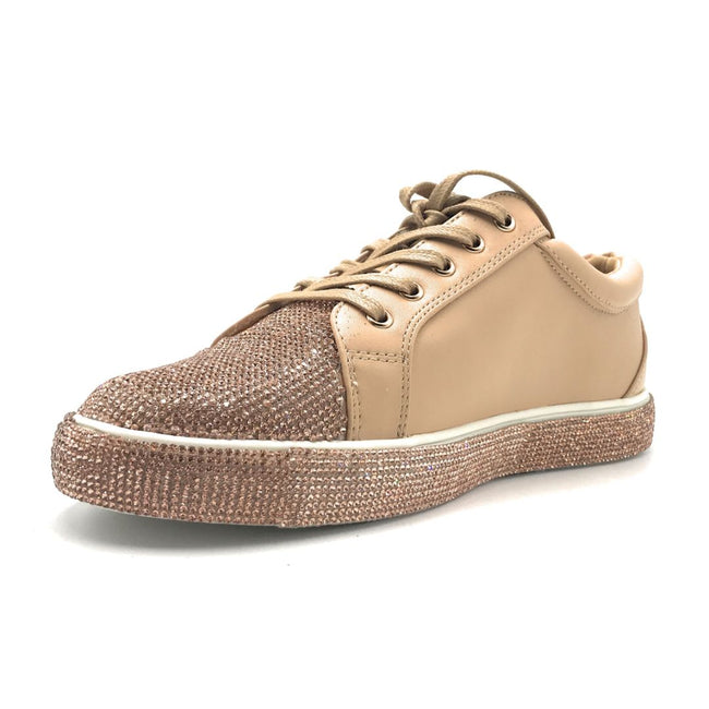 Olivia Jaymes Sol Nude Color Fashion Sneaker Shoes for Women