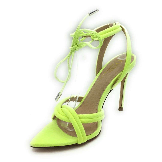 Olivia Jaymes Yukon N Yellow Color Heels Shoes for Women