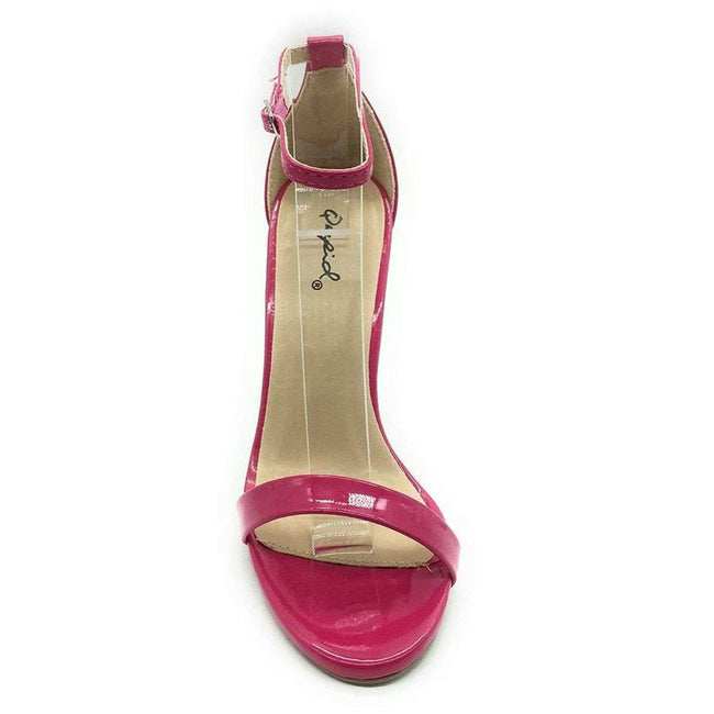 QUPID GRAMMY-01 Women Shoes  Color Fuchsia Patent Shoes for Women