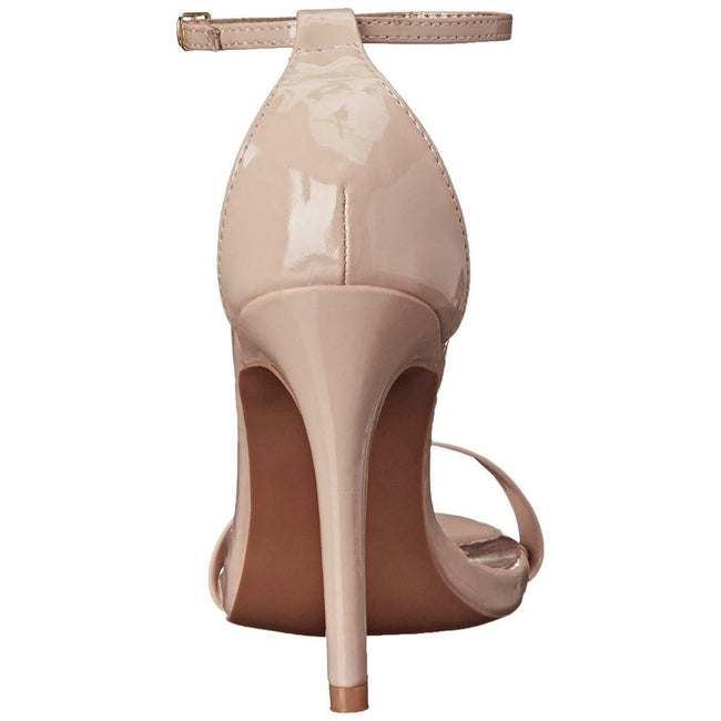 QUPID GRAMMY-01 Women Shoes  Color Nude Patent Shoes for Women