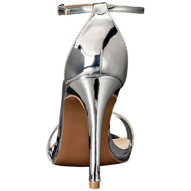 QUPID GRAMMY-01 Women Shoes  Color Silver Shoes for Women