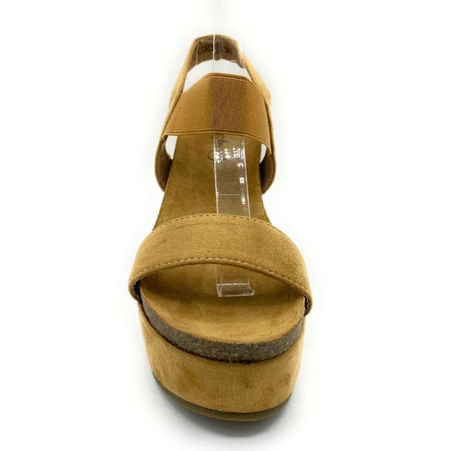 Refresh Gracie-03 Camel Color Flat-Sandals Shoes for Women